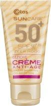 Etos Sun Anti Age Gezicht Spf50+ - 50 ml - Zonnebrandcreme