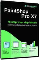 Staplessen voor PaintShop Pro X7 (17) - Nederlands / Windows/ DVD
