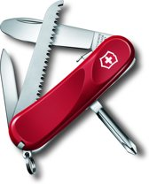 Victorinox Evolution Junior 09 - Zakmes - 8 Functies - Rood