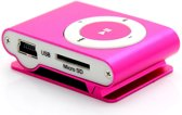 Mini MP3 speler + clip, oordopjes en data kabel (t