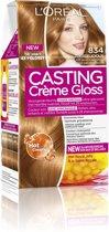 L'Oréal Paris Casting Creme Gloss - 834 Licht Goudkoper Blond - Crèmekleuring