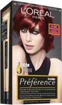 L'Oréal Paris Récital Préférence - 4.66 Pure Ruby P46 - Haarkleuring