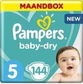 Pampers Baby-Dry - Maat 5 (Junior) 11-23 kg - Maan