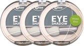 Etos Eyeshadow 013 - Groen - 3 stuks - Oogschaduw