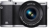 Samsung NX300M + 16-50 mm Powerzoom - Systeemcamera - Zwart