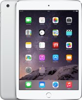 Apple iPad mini 3 Wi-Fi 128GB zilver MGP42FD/A