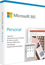Microsoft Office 365 Personal - Nederlands - 1 jaa