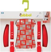 Qibbel Q516 - Stylingset Luxe Voorzitje - Checked Red
