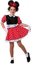 Minnie Mouse meisjes jurkje 128