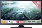 Salora 28LED9102CS- Led-tv - 28 inch - HD-ready - Smart tv - Zwart