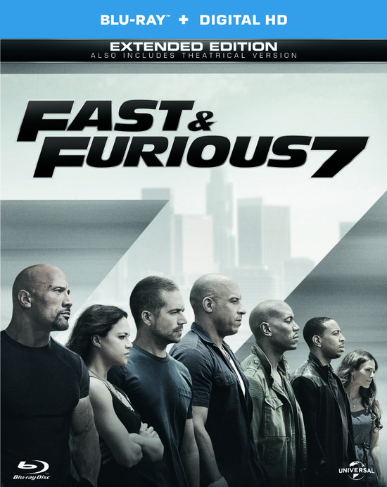 Fast and Furious 7 (Blu-ray)