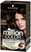 Schwarzkopf Million Color 3-65 - Haarkleuring