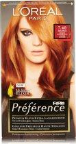 L'Oreal Paris Preference 7.40 Intense Koper - Haarkleuring