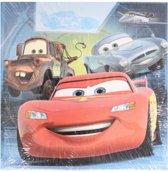 Disney Memo blaadjes cars blauw (200 stuks) 9x9cm