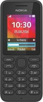 Nokia 130 Single Sim - Zwart