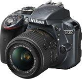 Nikon D3300 + 18-55 VR II - Spiegelreflexcamera - Antraciet
