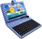 Stijlvol Bluetooth toetsenbord met beschermhoes