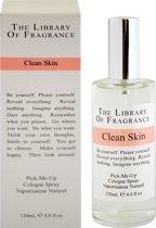 Library of fragrance clean skin - 120ml - eau de cologne