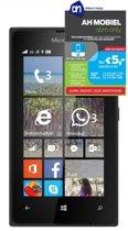 Microsoft Lumia 435 met AH Mobiel simkaart - Zwart