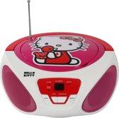 Hello Kitty AM/FM CD Boombox met iPod Ingang