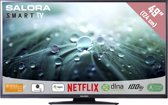 Salora 49LED9102CS - Led-tv - 49 inch - Full HD - Smart tv - Zwart