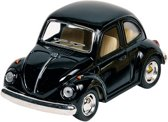 Goki Metalen volkswagen klassieke kever 1967: zwart