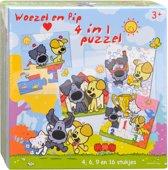 Woezel & Pip - 4 in 1 Puzzel