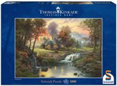 Schmidt Puzzel - Kinkade Mountain Retrait