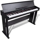 Klassieke elektronische digitale piano met 88 toetsen en bladmuziek houder