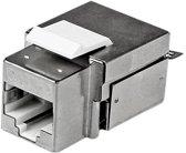 StarTech.com Afgeschermde Cat 6a RJ45 Keystone jack-stekker wit 110 type