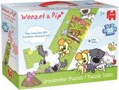 Woezel & Pip - Groeimeter Puzzel - 25 Stukjes