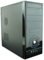 ATX PC-kast zonder voeding, midi-tower