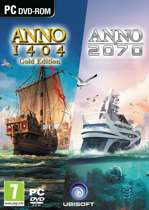 Anno Double Pack (Anno 1404 Gold + Anno 2070)  (DVD-Rom)