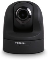 Foscam - FI9826P indoor HD PTZ PNP camera - Zwart