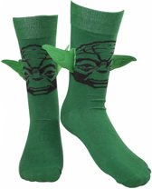 Star Wars - Yoda Felt 3D ear socks - 39/42