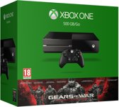 Microsoft Xbox One Gears of War Ultimate Edition Console - 500GB - Zwart - Xbox One