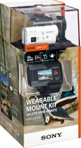 Sony HDR-AZ1VW met Wi-Fi - Action Camera - Wearable Kit