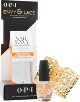 OPI ENVY & LACE  NAIL STRENGHTENER FOR SENSITIVE & PEELING NAILS & LACY CUFF - 15ML - Nagellak