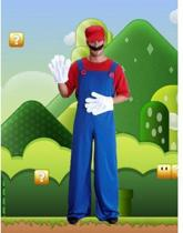 Compleet Super Mario kostuum volwassenen