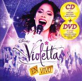 Disney Violetta En Vivo CD & DVD