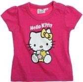 Hello Kitty T-Shirt - Fuchsia - Maat 86; 18 maanden
