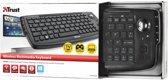 Trust Compact - Draadloos Toetsenbord / Qwerty / Zwart