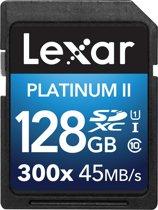 Lexar SDXC Card            128GB 300x Premium II Class 10 UHS-I