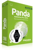 Panda Antivirus Pro 2015 - Nederlands/ Frans / 3 Gebruikers/ 1 Jaar/ Box - Inclusief Horloge (Wit)