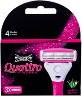 Wilkinson Quattro For Women Coral 3 Mesjes