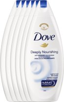 Dove deeply nourishing  - 250 ml - shower gel - 6 st - voordeelverpakking