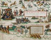 The World for a King: Pierre Desceliers' World Map of 1550
