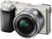Sony Alpha 6000 + 16-50mm - Systeemcamera - Zilver