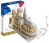 3D Puzzel Notre Dame 74Dlg.