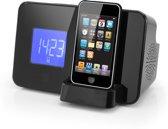 AudioSonic CL-1461 - Wekkerradio met iPod docking - Zwart